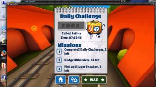 How to Hack subway surfers on PC in Hindi..,☺