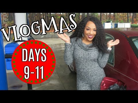 ITS TIME TO PARTY!!  VLOGMAS 2017 |  DAY 9-1 PART 2- VLOG #50
