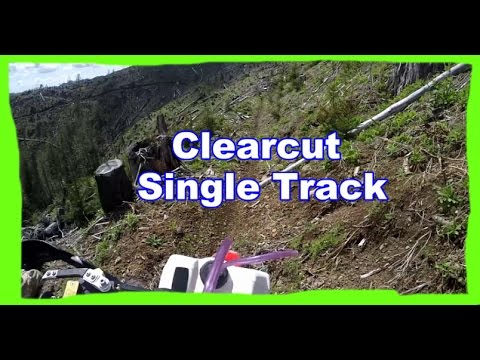 Dirtbike Riding: S3 E15 - Maico 700 - Clear cut Single Track!