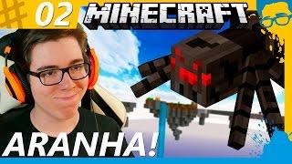 PRECISO DE UMA ARANHA! ( ͡° ͜ʖ ͡°) SKY GRIND #2 - Minecraft