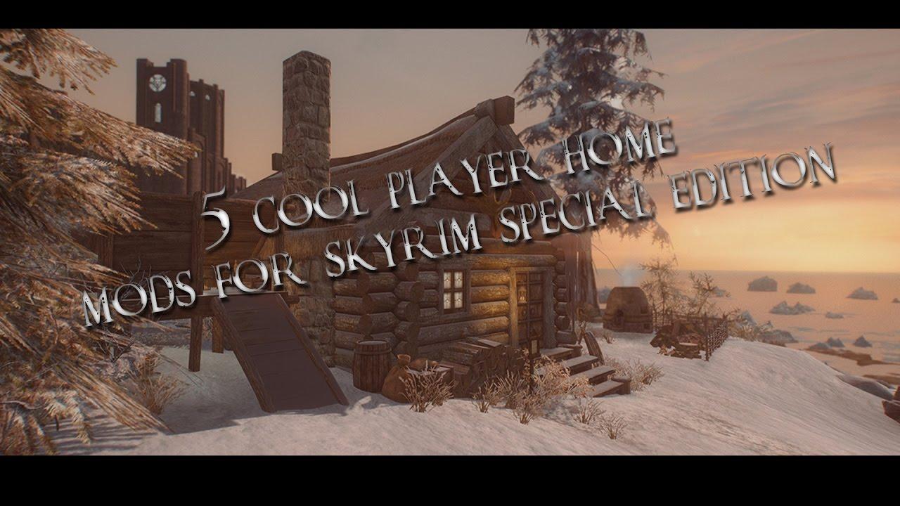 Skyrim Solstheim House Mod