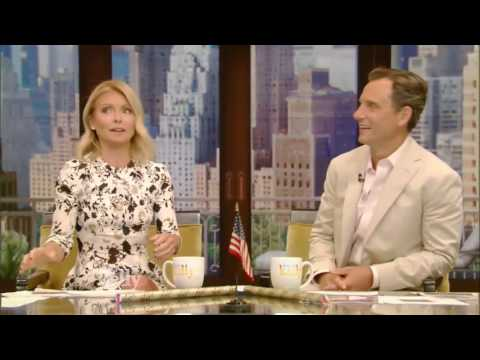 Live! With Kelly and co-host Tony Goldwyn (July 21, 2016) Seth Meyers 7/21/16