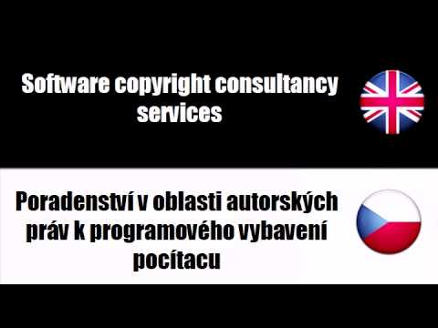 ENGLISH CZECH   Legal services