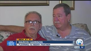 Gay couple of 30 years to get marriage license