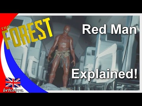 The Forest - Red Man Explained! (Update V0.51)