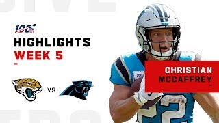 Christian McCaffrey Can't Be Stopped!💪 | NFL 2019 Highlights