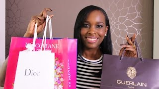 Massive Beauty Haul | Dior | Guerlain | Tom Ford & More