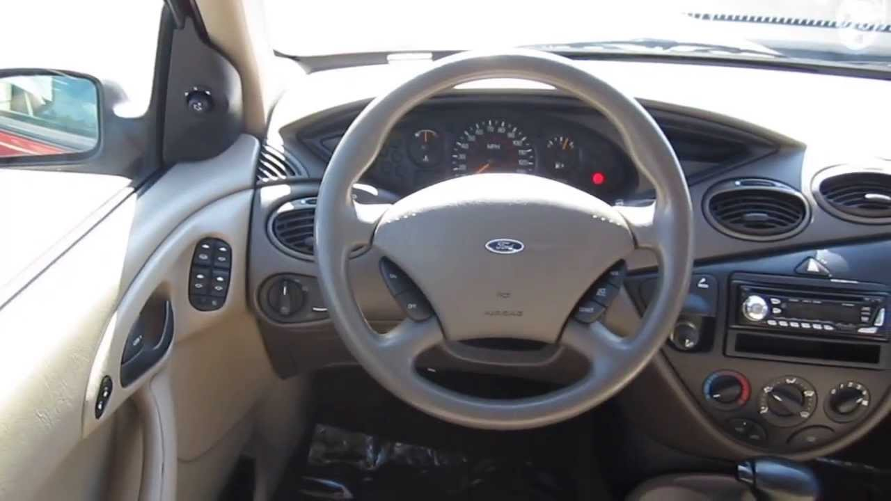 2000 ford focus red stock 6464a interior youtube