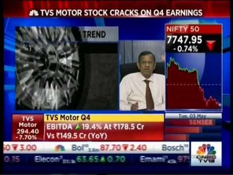 CNBC NSE Closing Bell 03 May 2016 04min 41sec Mr  Prayesh Jain   IIFL  Tel      Decoding TVS