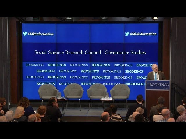 The consequences of misinformation: A symposium on media and democracy - Part 1