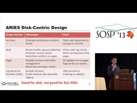 From ARIES to MARS: transaction support for next-generation, solid-state drives