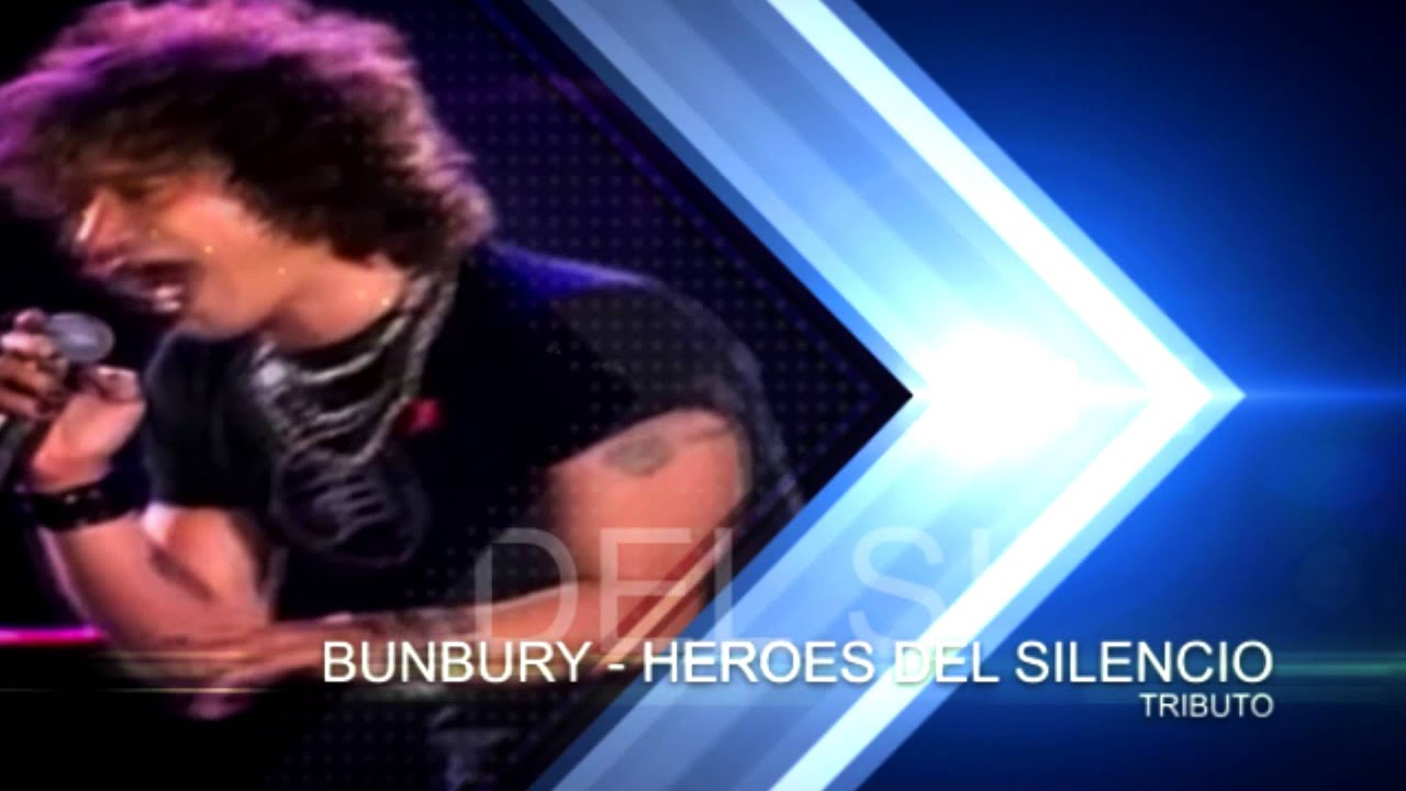 Y Al Final Bunbury Heroes Del Silencio Concierto Tributo Youtube