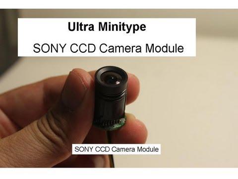 Ultra super small Mini CCD camera module ( 18mm Φ)