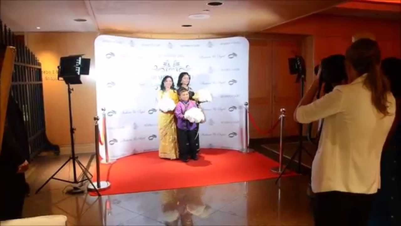 Red Carpet Step And Repeat Backdrop Media Wall Paparazzi Gobo Monogram Light Pan Pacific Hotel