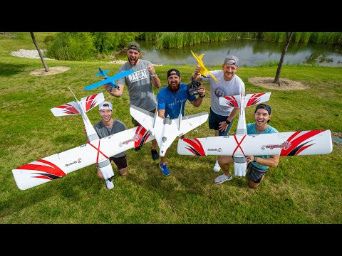 RC Airplane Battle   Dude Perfect