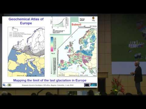 Continental–scale geochemical mapping in Europe