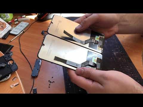 Разборка и замена дисплея Redmi Note 7 By Xiaomi