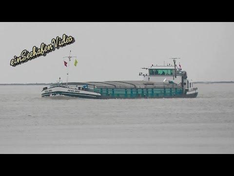GMS REINA ANNA PE7807 MMSI 244870203 Emden river barge inland cargo ship Binnenschiff