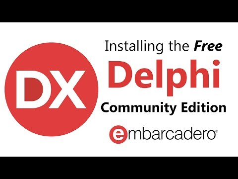 Installing Delphi Community Edition