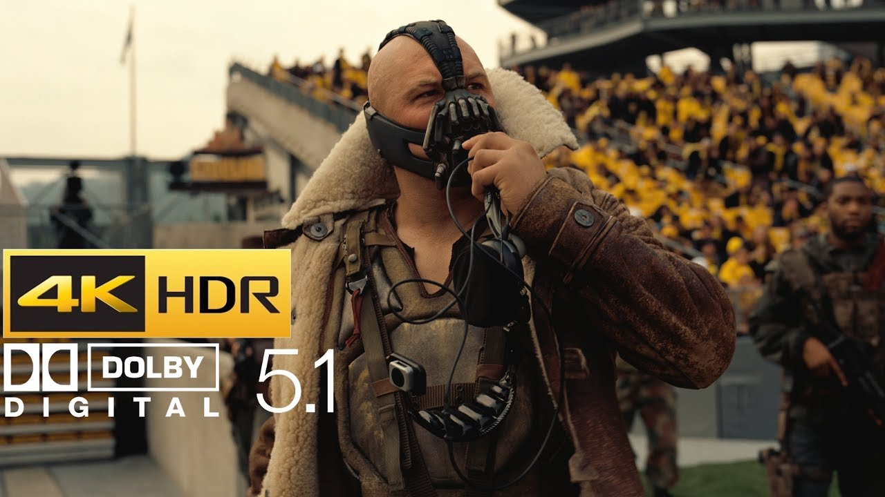 Download The Dark Knight Rises - Bane's Stadium Speech (HDR - 4K - 5.1)