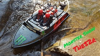"RC adventure - Customized Jet Boat - NQD ""Tear Into"" 3s Lipo, Brushless"