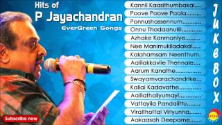 Hits of P Jayachandran Evergreen Songs Jukebox