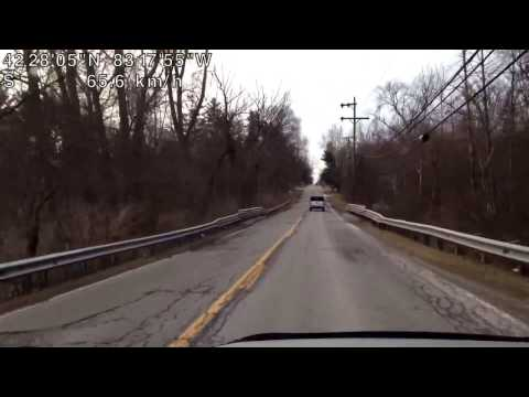 Driving from Southfield, Michigan to Inkster, Michigan through Beech Daly Road