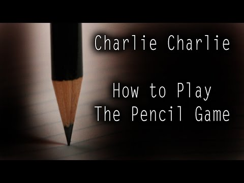 Charlie Charlie: How to Play the Pencil Game | MrCreepyPasta's Storytime