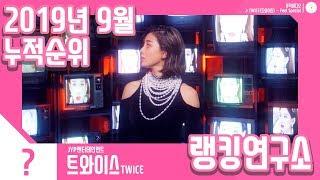 [랭킹연구소] 2019년 9월 걸그룹 누적순위 (여자아이돌 랭킹) | K-POP IDOL Girl Group…