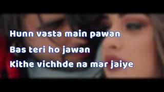 Ajj Vi Chaunni Aah (Lyrical Video)   Ninja ft Himanshi Khurana   Gold Boy   Latest Punjabi Song 2018