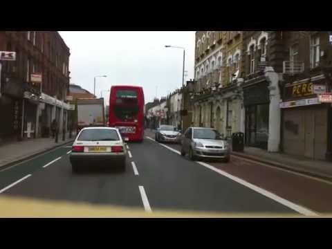 London streets (183.) - Dagenham (RM9) - Gloucester Circus (SE10)