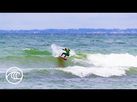 2019 Junior Pro La Torche Highlights: Men's RD2 Powers Through at La Torche