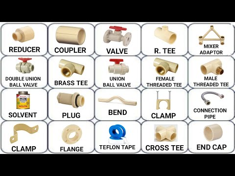 plumbing work material s name s Full HD ||cpvc pipe fittings, pipe analysis,