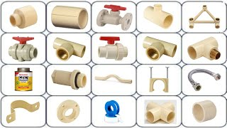 plumbing work material s name s Full HD ||cpvc pipe fittings, pipe analysis, plumbing besics