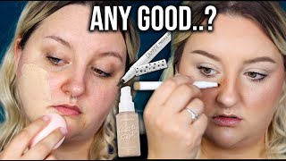 ANY GOOD??.. | TESTING THE NEW COLOURPOP PRETTY FRESH HYALURONIC FOUNDATION + FRECKLE PEN
