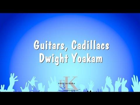 Guitars, Cadillacs - Dwight Yoakam (Karaoke Version)