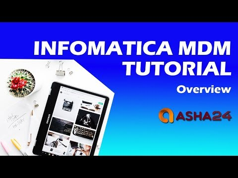 Asha24 | Informatica MDM Online training | Informatica MDM 10.2 Online tutorial | Asha24