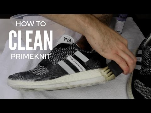 HOW TO CLEAN PRIMEKNIT - Y3 PUREBOOST ZG KNIT