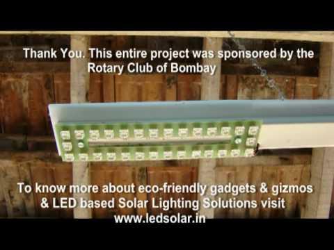 Solar Tube Lights at Village Talwada (India)