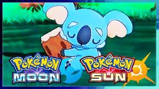 Pokemon Sun and Moon: NEW Komala & Rockruff Gameplay! Komala