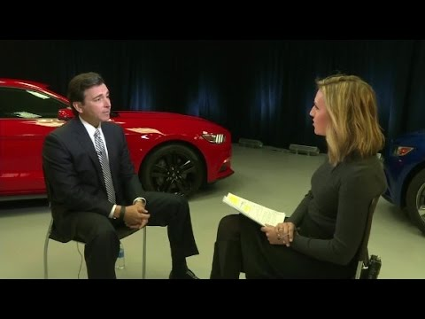 Ford CEO on Trump tweeting at companies