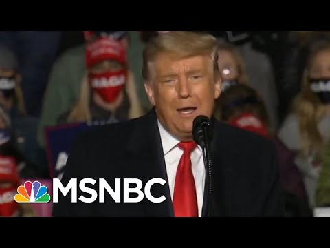 Trump Jokes He Didn't Plan On Campaigning In Erie, Pa. | Morning Joe | MSNBC