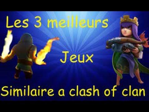 Top 3 des jeux similaires à clash of clan 2016