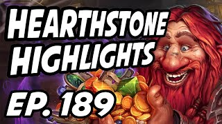 Hearthstone Daily Highlights | Ep. 189 | TrumpSC, DisguisedToastHS, controltheboard