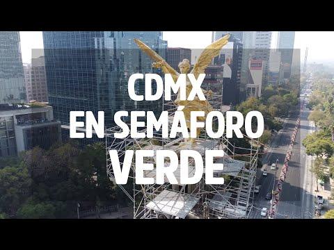 La CDMX pasa a semáforo #verde | CHILANGO