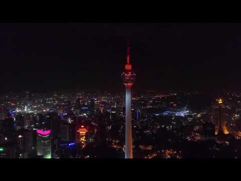 The Night Beauty of Kuala Lumpur Tower (KL Tower)