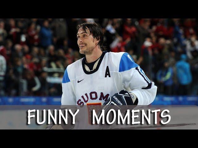 Teemu Selanne - Funny Moments [HD]