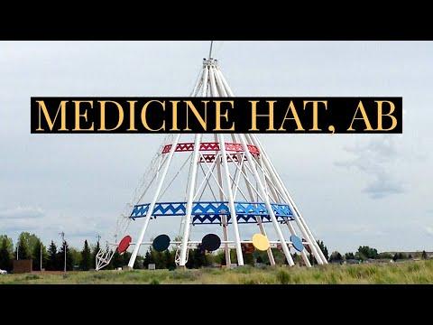 Pictures of Medicine Hat, Alberta, Canada.