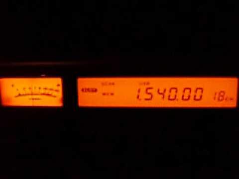1.540 ZNS1 Radio Bahamas (presumed), Nassau, Bahamas with WDCD 02:38-02:40 UTC 29.10.2013