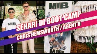 Seharian di Boot Camp Chris Hemsworth aka Agent H - MEN IN BLACK: INTERNATIONAL